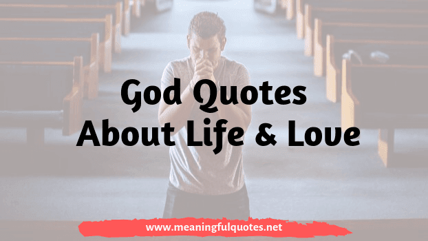 Best Inspirational God Quotes