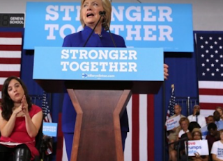 Clinton Makes An Unusual Push: To Win Over Disabled People And Their Families