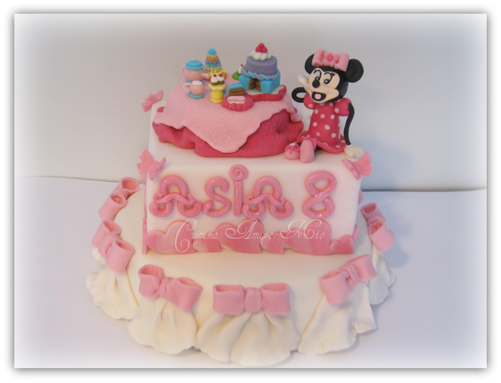 Favoloso Lara Costantini Cake Designer: TORTA DI COMPLEANNO ASIA - OTTO  FA03