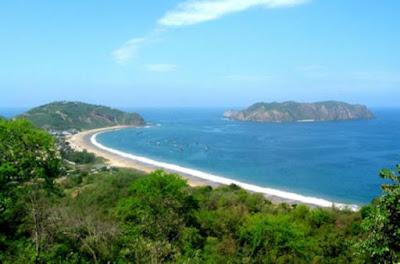 Salango sulla costa dell'Ecuador ha una storia nota che risale a 5000 anni fa.