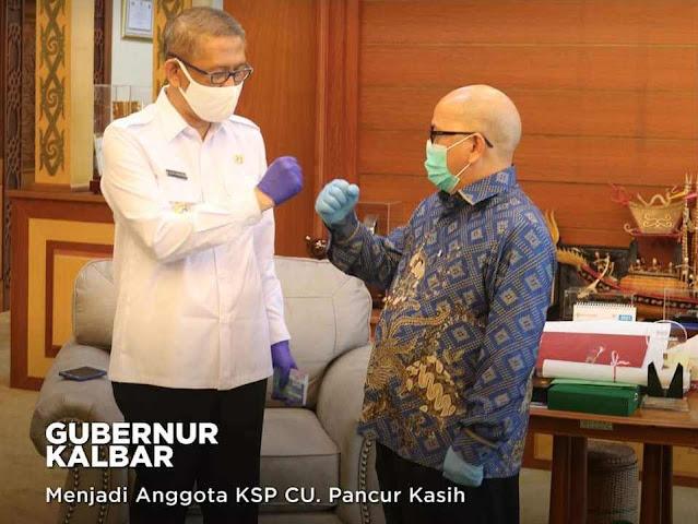 Gubernur Sutarmidji menjadi Anggota KSP CU. Pancur Kasih