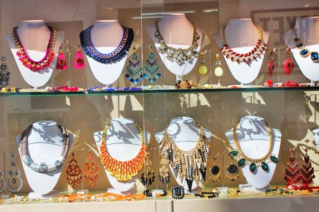 Chora Mykonos town jewelry shops