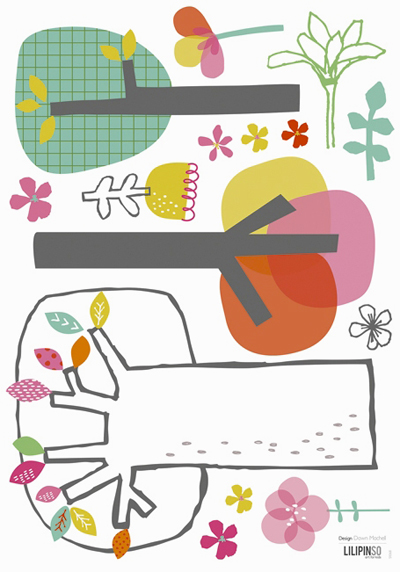 print & pattern WALL DECALS  new at lilipinso