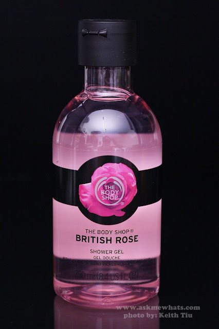A photo of The Body Shop British Rose Shower Gel