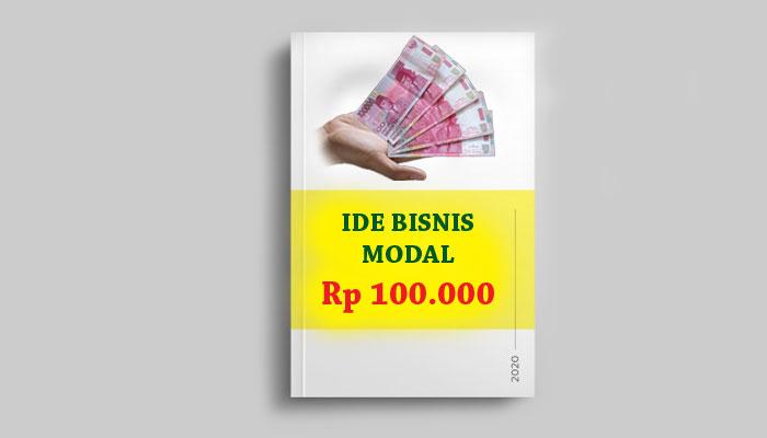 Usaha modal 100 ribu