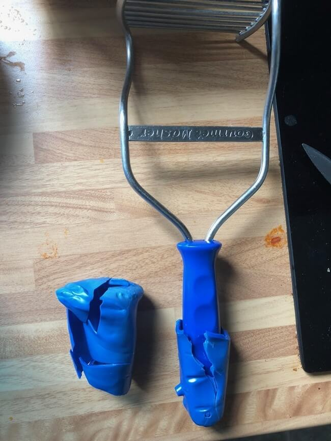 27 Pictures Show That The World Has A Plan For All Of Us - 'I put my potato masher in the washing machine — the handle fell apart, and I found another handle underneath!'