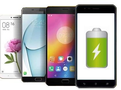 Smartphones with big battery