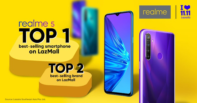 Realme 5 is Lazada 11.11 Sale's Best-Selling Smartphone