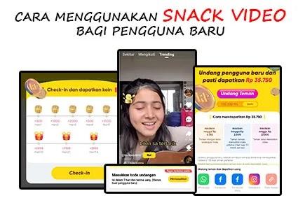 snack video apk penghasil uang terbaru