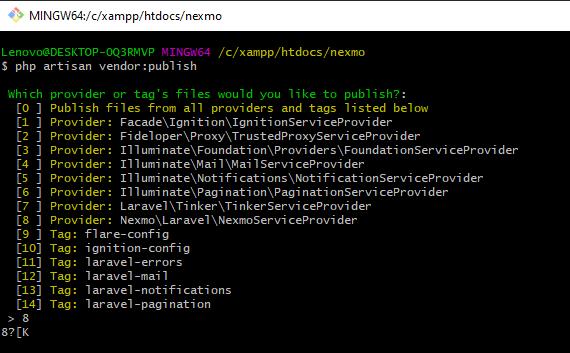 Membuat SMS Gateway Dengan Nexmo Di Laravel