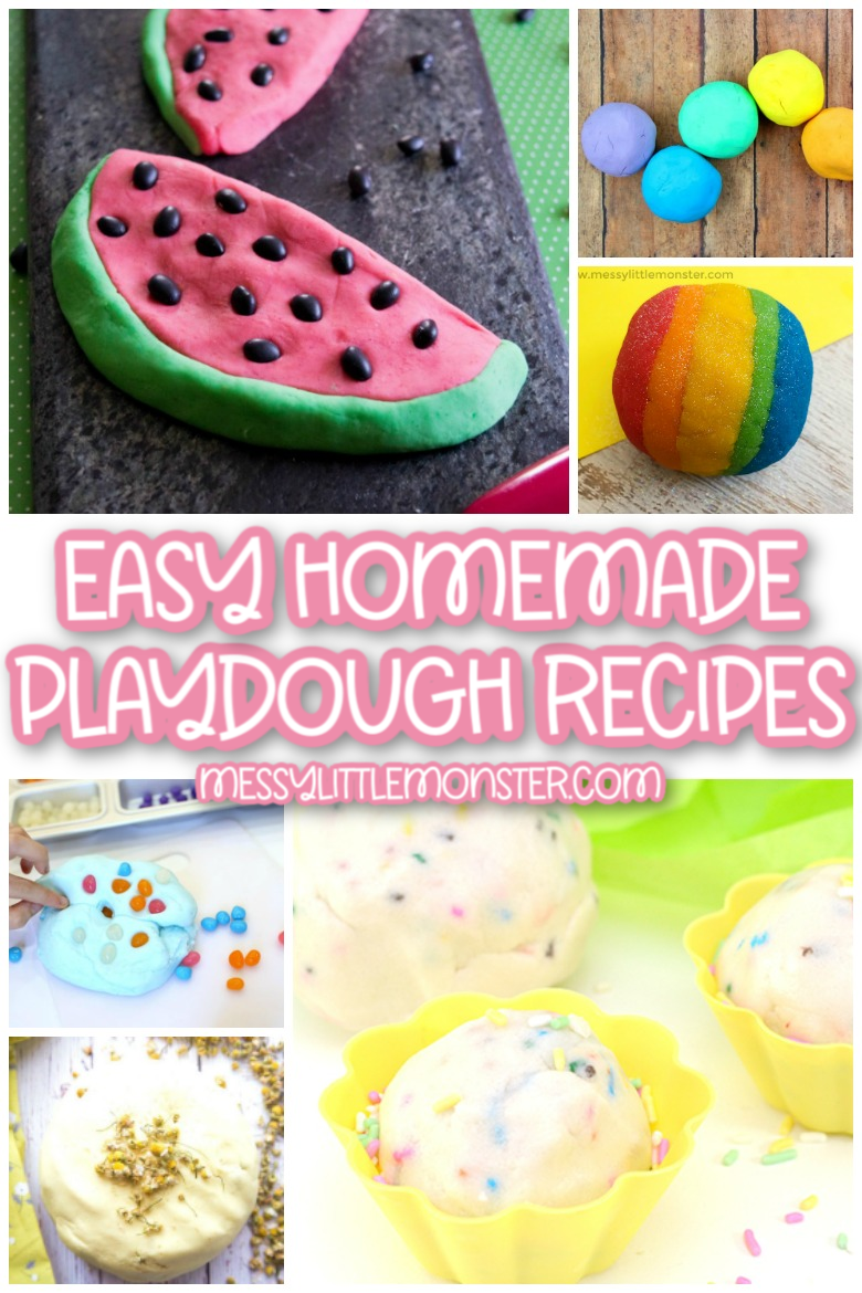 homemade playdough recipes