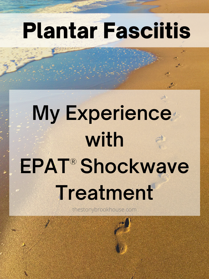 Plantar Fasciitis - My Experience With EPAT Shockwave Treatment