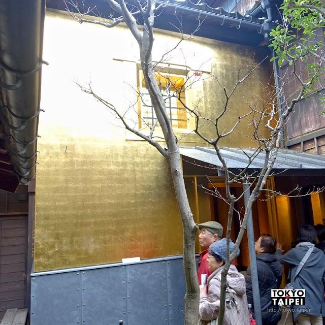 【箔座光藏】東茶屋街裡的金色驚奇 2萬片金箔貼滿百年老倉庫
