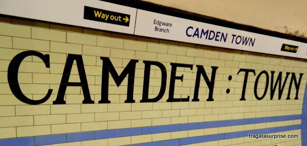 Estação de Metrô de Camden Town