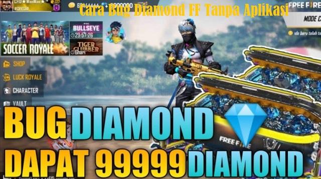Cara Bug Diamond FF Tanpa Aplikasi