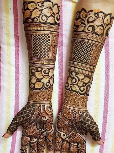 Bridal Designs for Full Hands 10