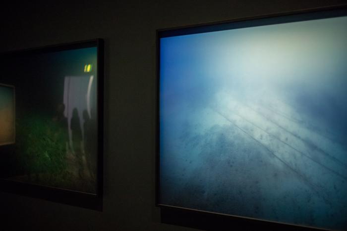 Trevor Paglen  Tapped Undersea Cables, Atlantic Ocean, North Pacific Ocean