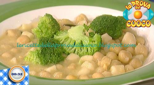 Cazzarelli ceci e broccoli ricetta Della Croce da Prova del Cuoco