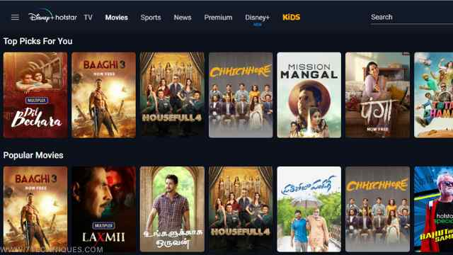 Hotstar Full HD Movies Download 1080p