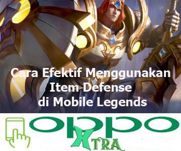 Cara Efektif Menggunakan Item Defense di Mobile Legends