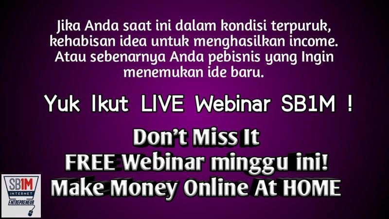 Free Webinar Bisnis Online