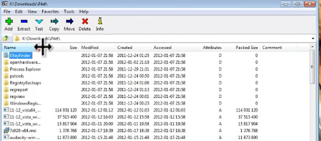 cara mengecilkan file menggunakan file rar 7 zip