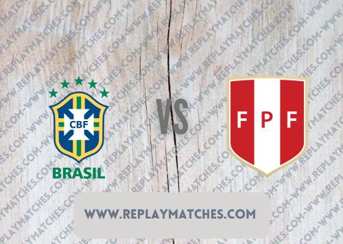 Brazil vs Peru -Highlights 06 July 2021