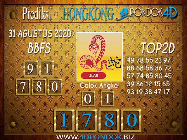 Prediksi Togel HONGKONG PONDOK4D 31 AGUSTUS 2020