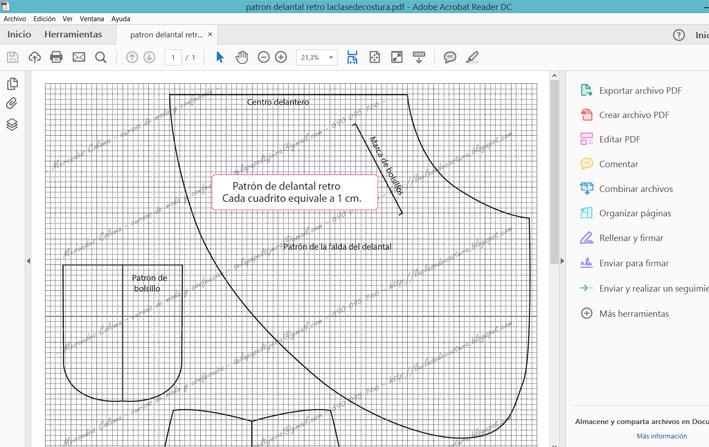 Como imprimir patrones pdf en folios con ayuda de la impresora de casa