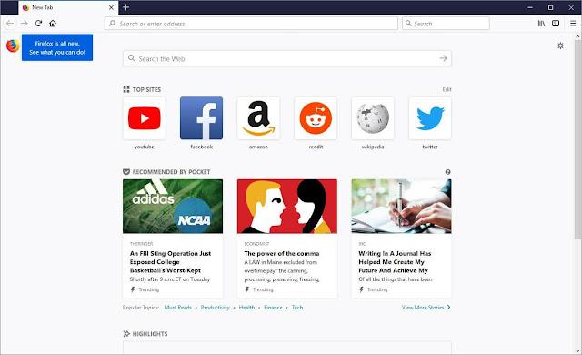 تحميل متصفح Firefox Quantum السريع