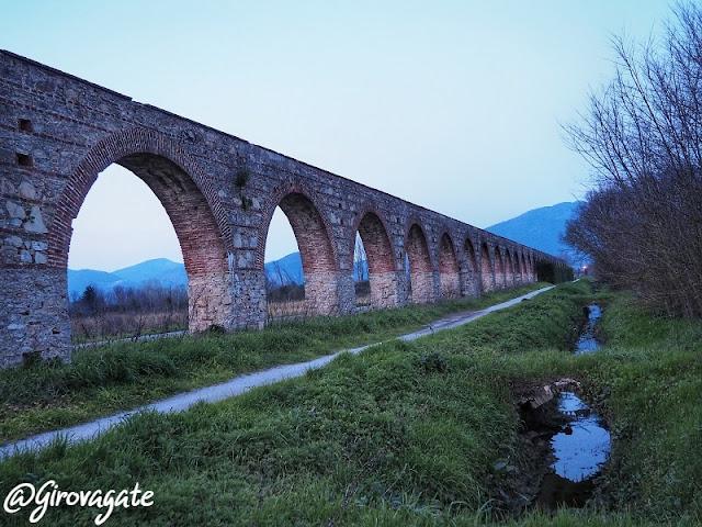 acquedotto mediceo Asciano pisa percorso