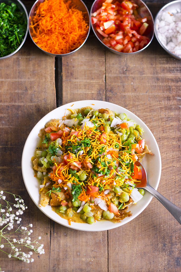 bangalore street food masala puri chat