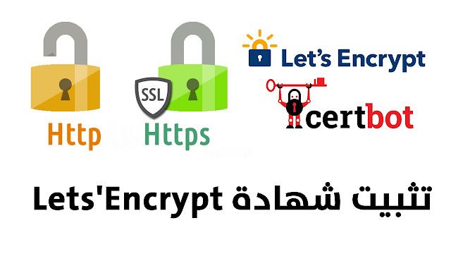 شرح تثبيت شهادة SSL من Let's Encrypt لحماية خادم الويب Apache على Debian/Ubuntu