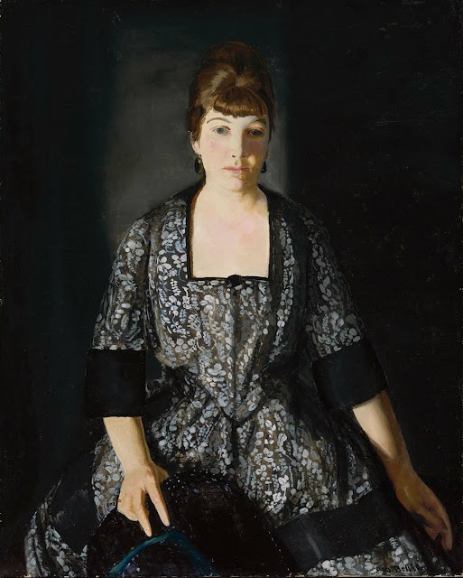 George Wesley Bellows - Эмма в черном