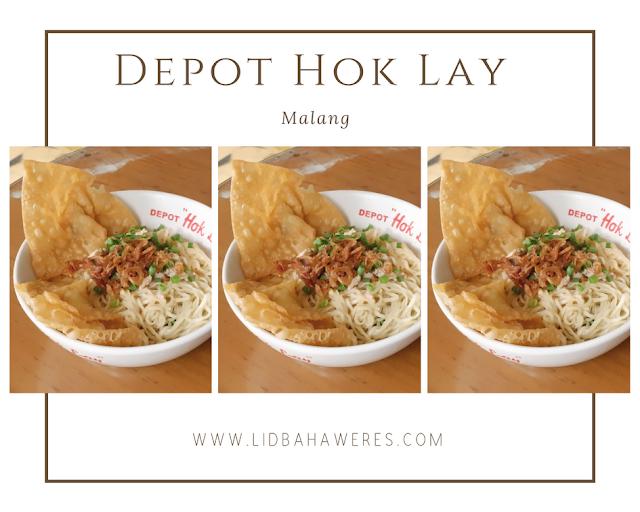 Mencicipi Kuliner Pangsit Cwie Mie di Depot Hok Lay, Malang