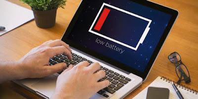 Simak! Cara Merawat Baterai Laptop agar Tahan Lama