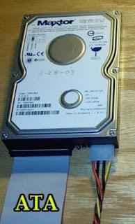 Perbedaan Harddisk IDE, ATA, SATA dan SSD - Hardware Komputer, Pengertian hardisk, perbedaan hardisk, cara kerja hardisk, jenis hardisk, kapasitas hardisk