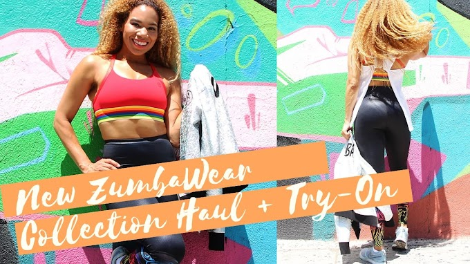 New Zumba Wear Collection Haul + Try-On | Sponsored