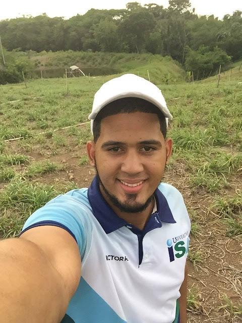 """El joven ING Victor Lisandro Rodríguez, como Director de Agricultura en Navarrete """"Sub Zona Agrícola"""""""