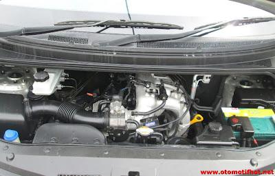 Spesifikasi mesin lengkap Hyundai H1