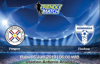Prediksi Paraguay Vs Honduras 5 Juni 2019