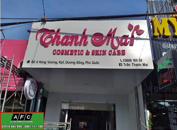 Thi công bảng hiệu quảng cáo Thanh Mai Phú Quốc