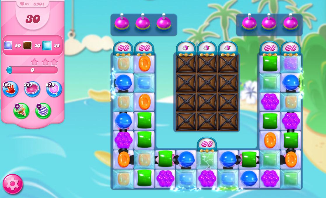 Candy Crush Saga level 6901