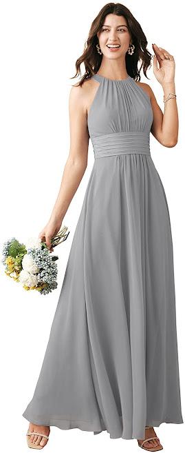 Chiffon Bridesmaid Dresses For Beach Wedding