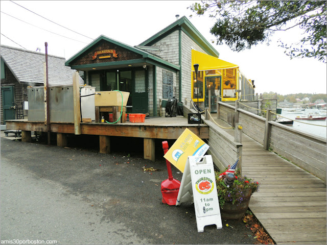 Thurston's Lobster Pound en Maine