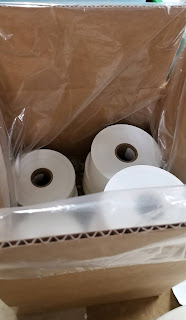 Label Rolls Packed In Plastic Bags