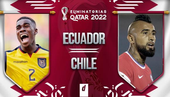 Chile vs Ecuador EN VIVO por Chilevisión y TNT: partido de hoy por las Eliminatorias
