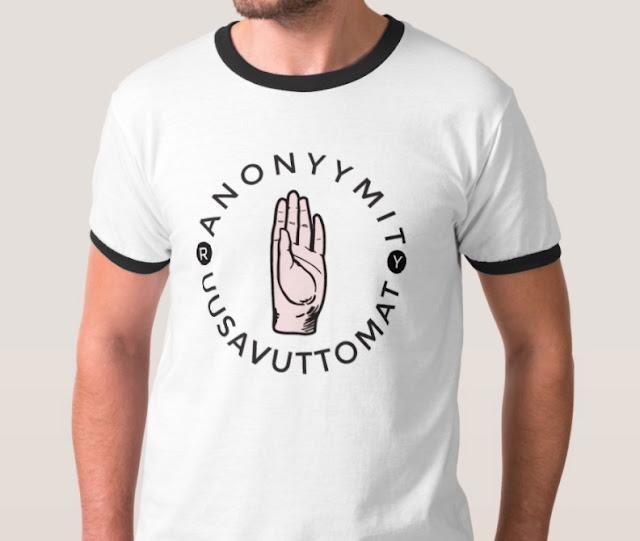 Anonyymit Uusavuttomat t-paita