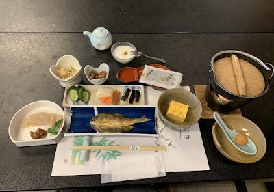 はづ別館の朝食