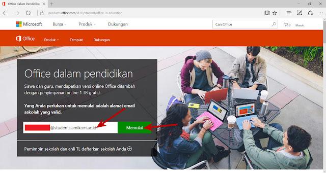 Cara mendapatkan Microsoft Office 365 secara gratis